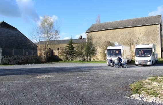 Aire de camping-car du relais de poste aux chevaux