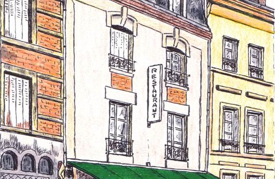 Le Saint-Honoré - Gravure