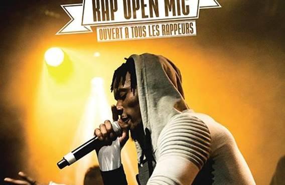 Concert Urban Tracks - Rap Open Mic