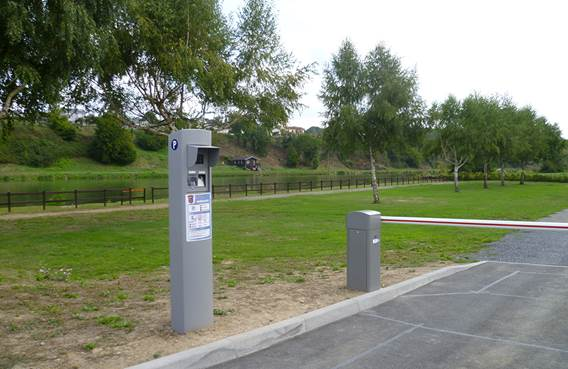 Aire de camping car de Vireux-Molhain