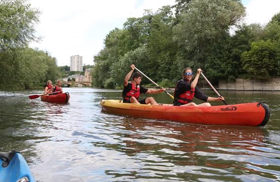 Canoë Kayak : Rand'eau Meuse à Sedan