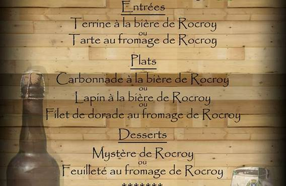 Menu terroir