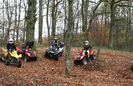 Randonnées en quads