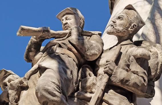 Commémoration des combats de 1870