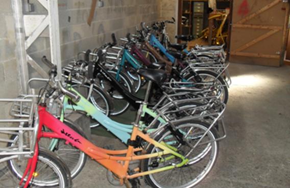 Location de vélos - Arenam - Garage solidaire