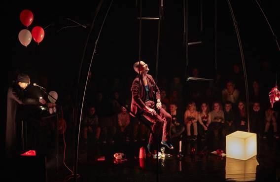 Cirque aérien : Loin et si proche