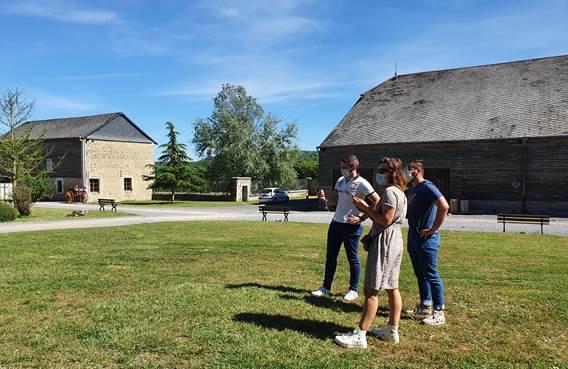 Visite audioguidée du Relais de la Poste aux Chevaux de Launois-sur-Vence