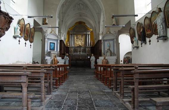 Visite guidée de la Collégiale Saint-Ermel