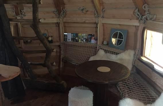 salon de ka cabane la legende