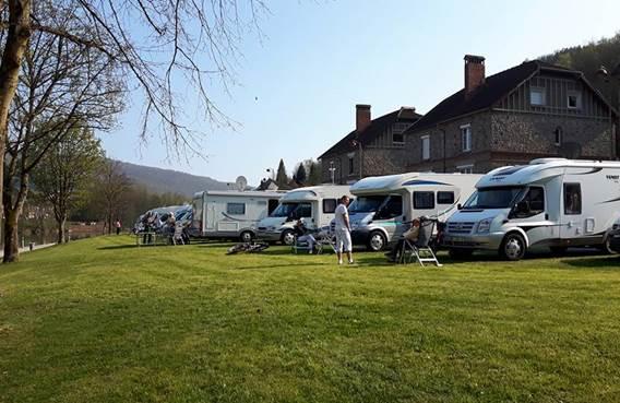 Aire de Camping-car à Monthermé