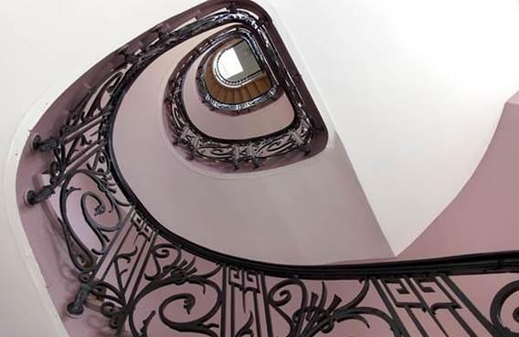Escalier de la Maison Gollnisch