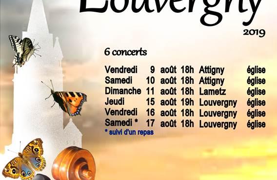 Les musicales de Louvergny - 2019