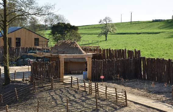 village en construction