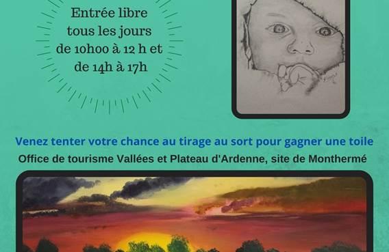Exposition de peintures de Mr Pineau François