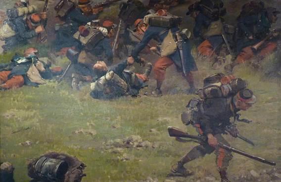Reconstitution historique pour le 150ème anniversaire de la bataille de Sedan