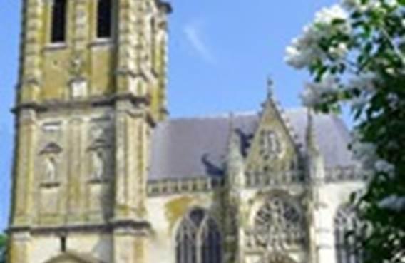 Visites accompagnées de l'église Saint-Nicolas septembre