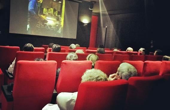 salle de projection mma