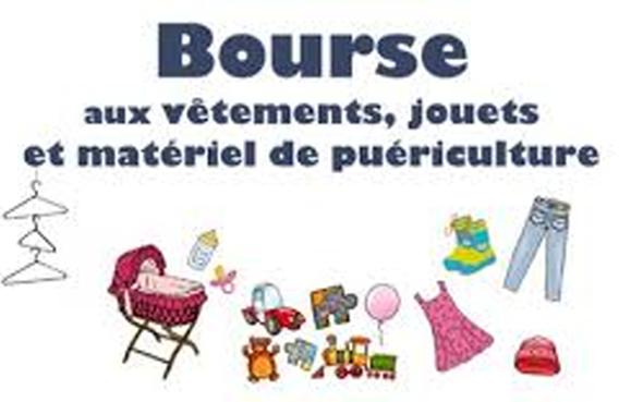 Bourse aux jouets, vêtements et matériel de Puériculture