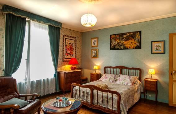 8 chambre bleue