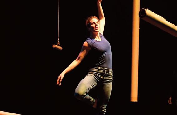 Danse / Cirque / Matière : Papier 2