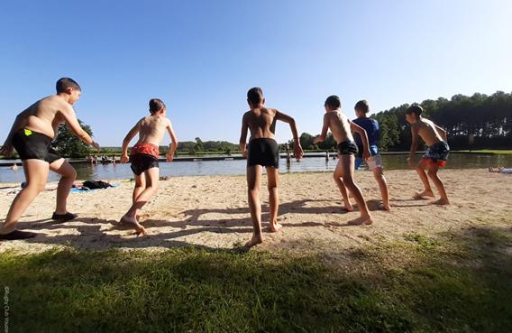 Plan d'eau : l'étang de La Samaritaine