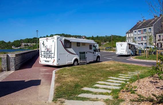 Aire de camping-car de Givet