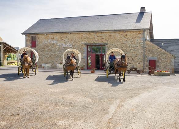Notre restaurant La Ferme Saint-Michel
