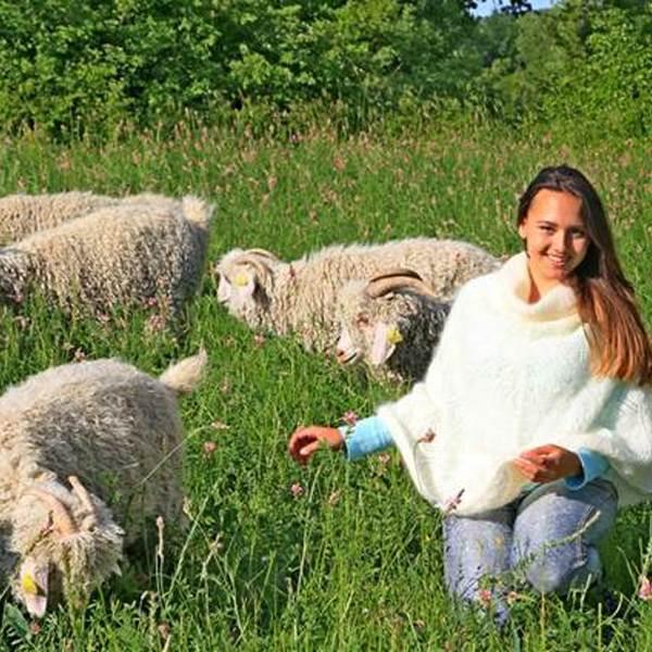 De ferme en ferme - Mohair de la Pastourelle