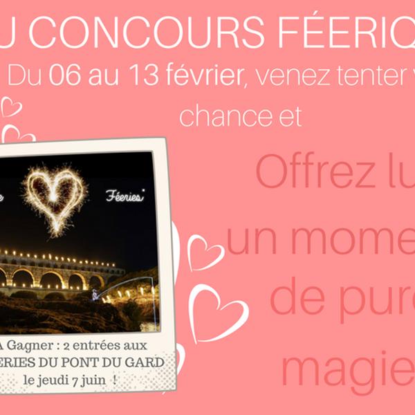 """Jeu concours """"Féérique"""" de la Saint Valentin"""