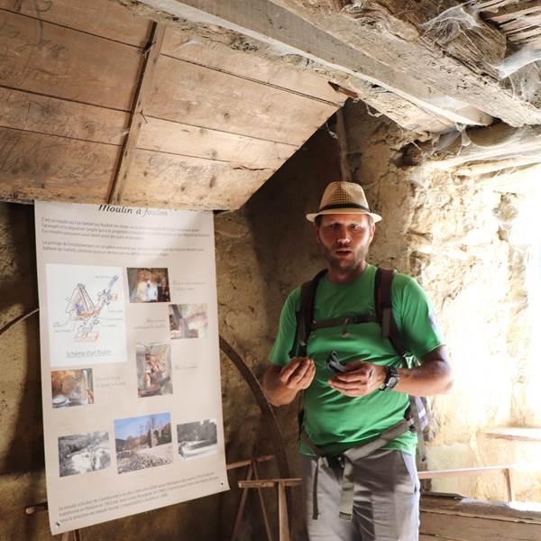 Julien Travier, Accompagnateur en montagne