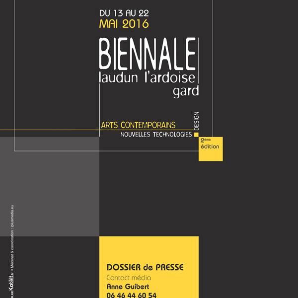 Les Biennales de Laudun L'Ardoise Gard 2016