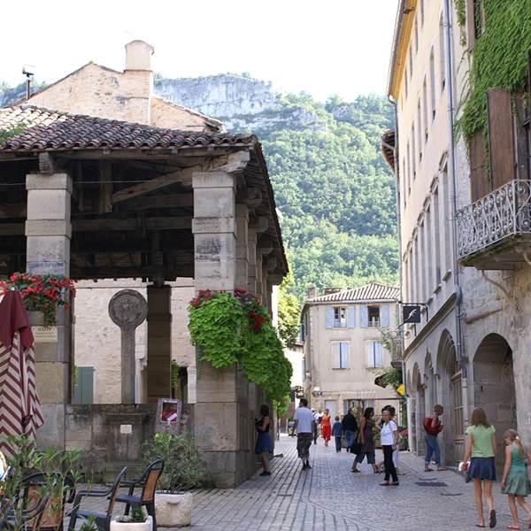 Le village préféré des Français : St Antonin Noble Val