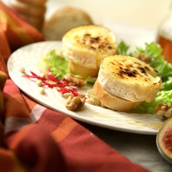 [Recette] Salade de Pélardon aux airelles de l'Aigoual