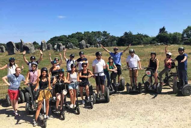 Mobilboard Carnac / Quiberon velo trott bike
