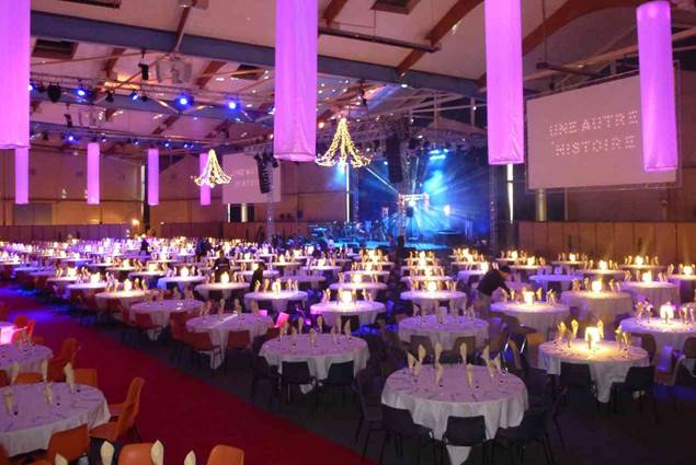 Parc des Expositions le Chorus - Vannes Morbihan Bretagne Sud - Resto Hall A