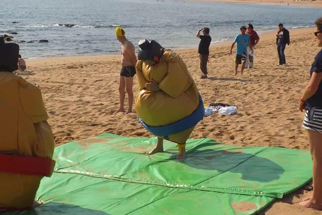 Animation de plage avec Au Gré du Vent sur un formidable terrain de jeu : la plage !