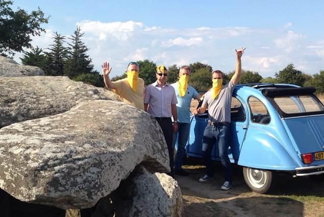 Rallye en 2 CV avec Au gré du Vent