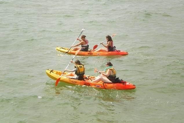 Sortie en Kayaks avec Nautic Sport
