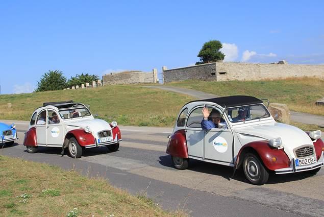Rallye 2CV en Morbihan Bretagne Sud