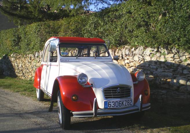 Week end insolite : escapade en 2CV