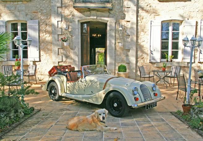 L'Art de vivre français au volant d'une Morgan