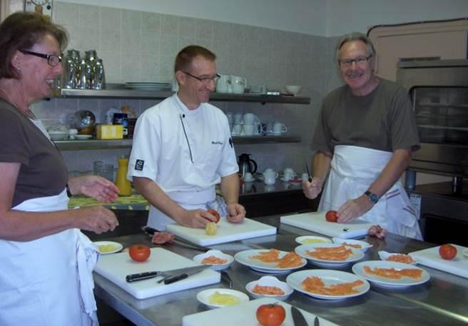 Cours de cuisine dans le Sud-Ouest