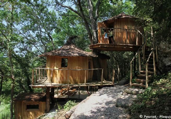 Des cabanes de lutins, grandeur nature !