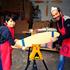 Des artisans heureux de partager leur savoir-faire