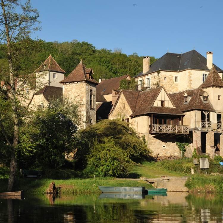 Le Balcon vue de la Dordogne
