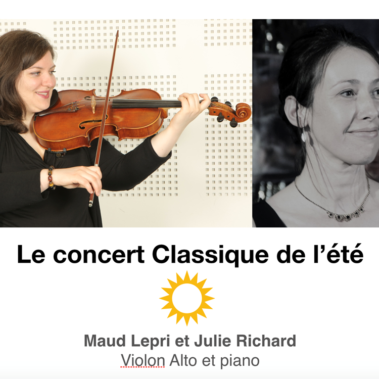 Concert Maud et Julie 1