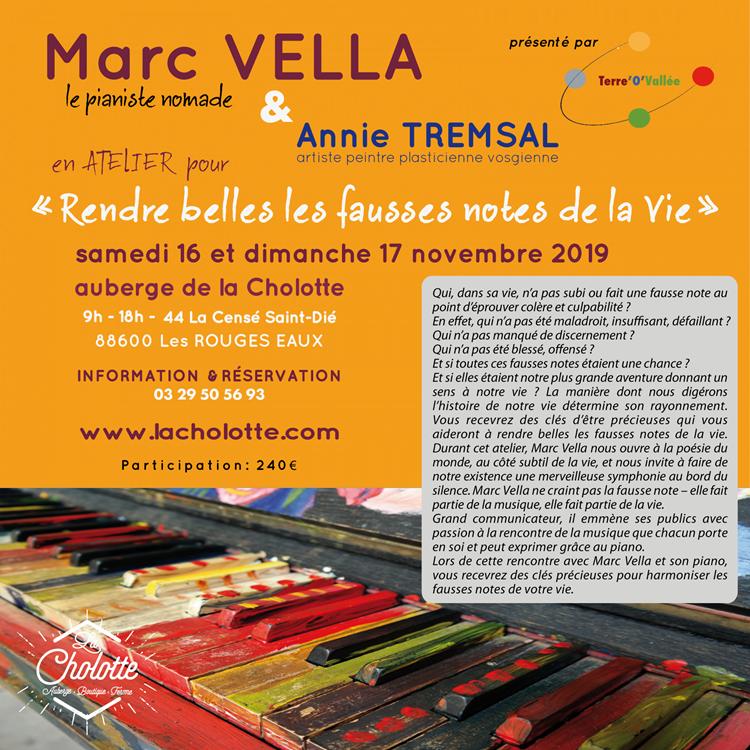 Marc VELLA + Annie Cholotte 2019-03