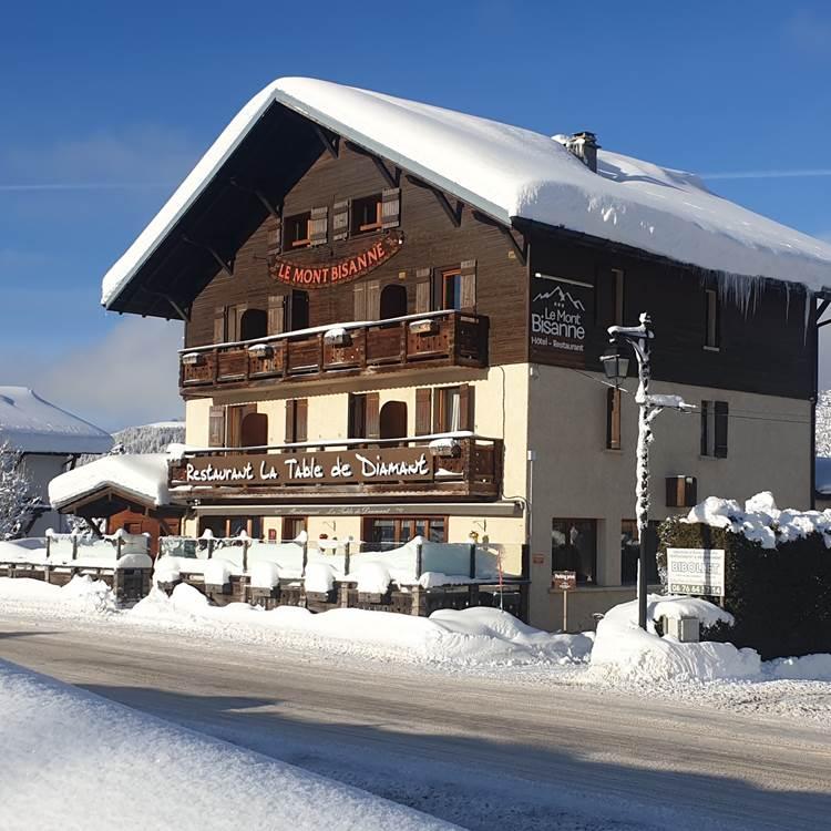 Hôtel le Mont Bisanne à Crest-Voland Val d'Arly Espace Diamant
