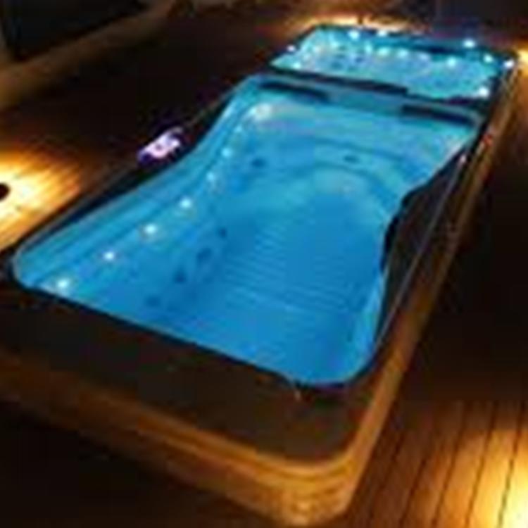 SPA-piscine contre courant ( bizone)
