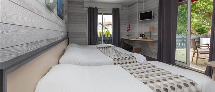 Suite familliale hotel Le Rond Point Hossegor Landes